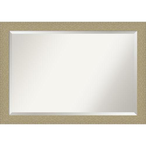 Amanti Art Mosaic Gold Bathroom Vanity Wall Mirror Bm Mosaicgold Bellacor