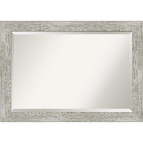 Dove Gray 42W X 30H-Inch Bathroom Vanity Wall Mirror