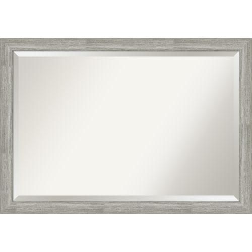 Dove Gray Bathroom Vanity Wall Mirror