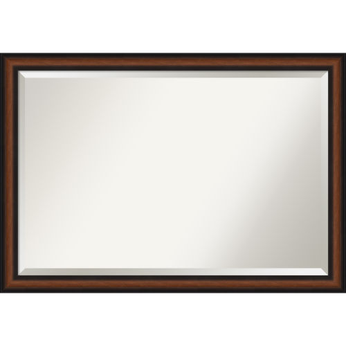 Yale Walnut Bathroom Vanity Wall Mirror