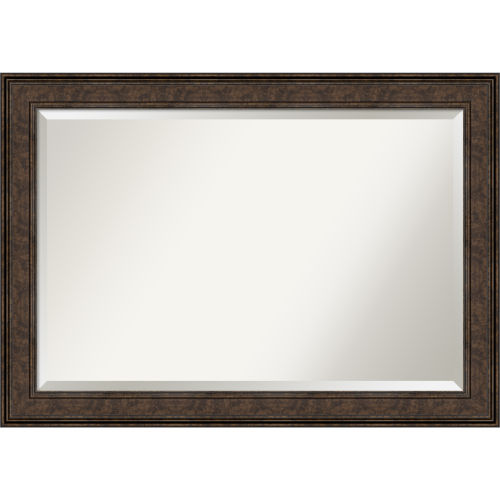 Ridge Bronze 42W X 30H-Inch Bathroom Vanity Wall Mirror