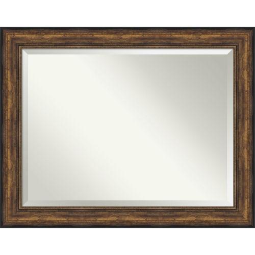 Bronze 48W X 38H-Inch Bathroom Vanity Wall Mirror