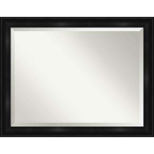 Black 46W X 36H-Inch Bathroom Vanity Wall Mirror