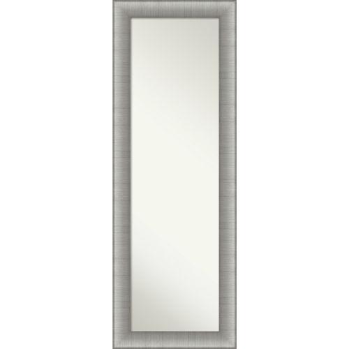 Elegant Pewter Full Length Mirror