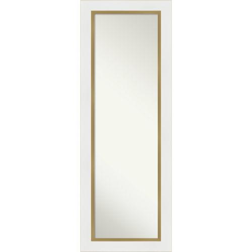 Eva White and Gold Full Length Mirror