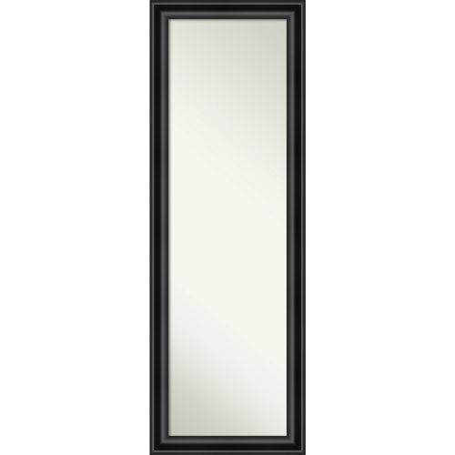 Black 18W X 52H-Inch Full Length Mirror