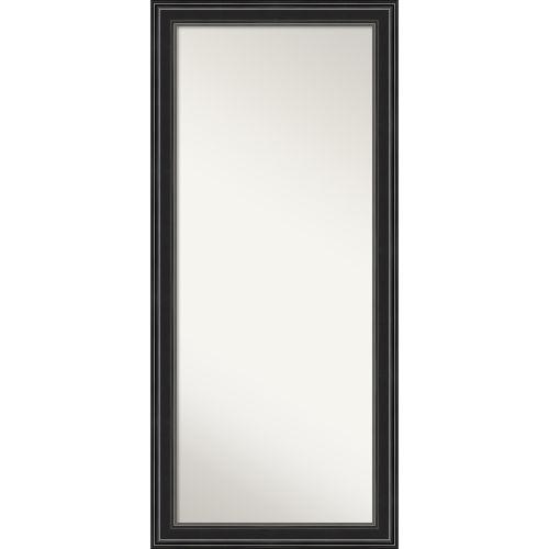 Ridge Black 30W X 66H-Inch Full Length Floor Leaner Mirror