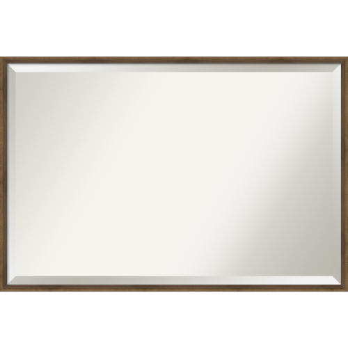 Lucie Bronze 37W X 25H-Inch Decorative Wall Mirror