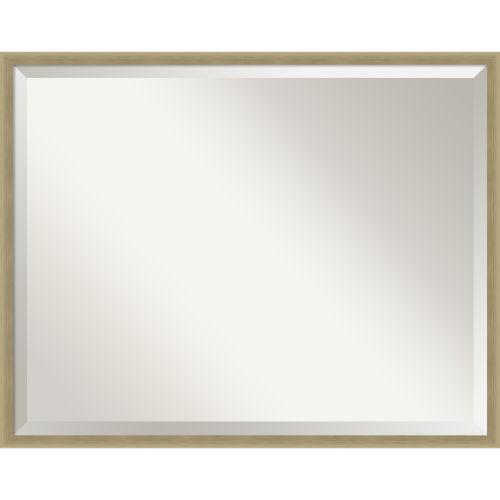 Lucie Champagne 29W X 23H-Inch Decorative Wall Mirror