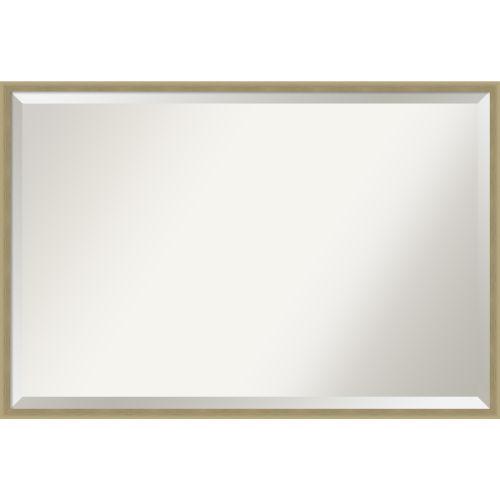 Lucie Champagne 37W X 25H-Inch Decorative Wall Mirror