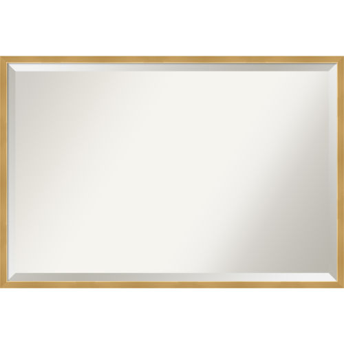 Gold Bathroom Vanity Wall Mirror