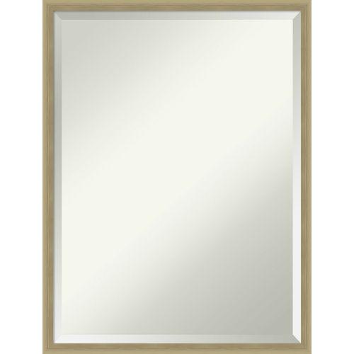 Lucie Champagne 19W X 25H-Inch Bathroom Vanity Wall Mirror