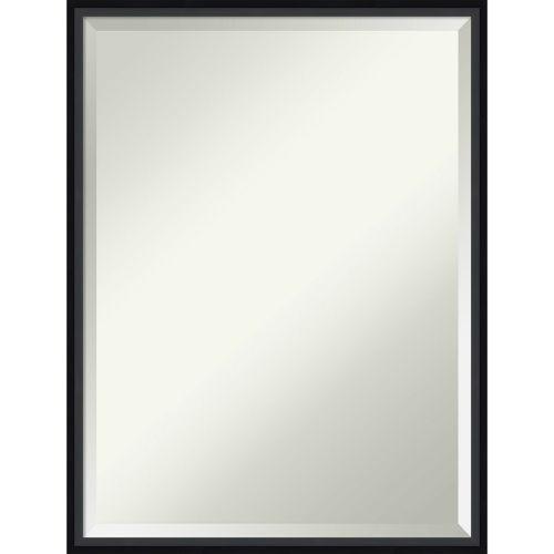 Lucie Black 19W X 25H-Inch Bathroom Vanity Wall Mirror