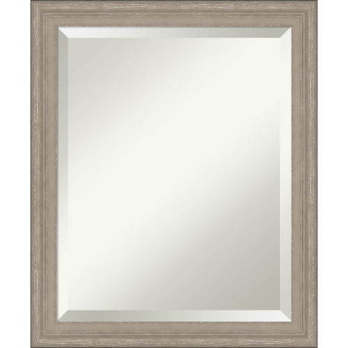 Gray Frame 19W X 23H-Inch Bathroom Vanity Wall Mirror