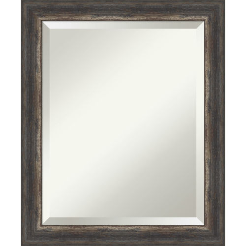 Bark Brown 20W X 24H-Inch Bathroom Vanity Wall Mirror