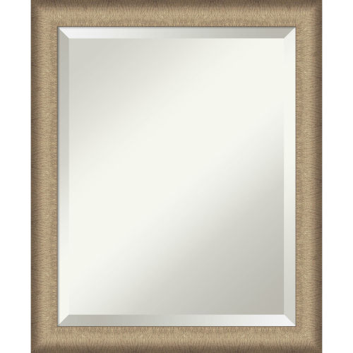 Elegant Bronze 19W X 23H-Inch Bathroom Vanity Wall Mirror