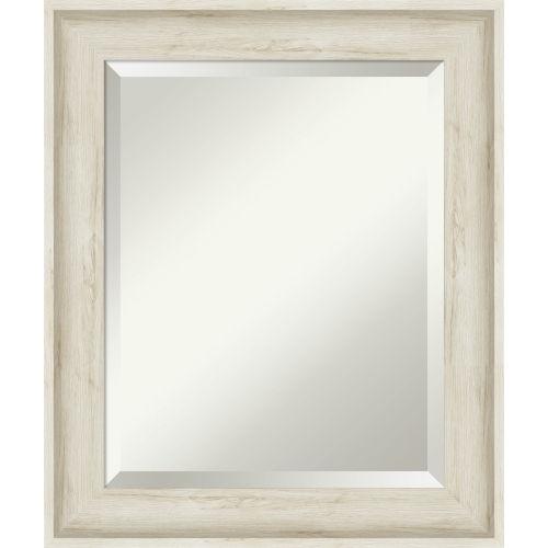 Regal White 21W X 25H-Inch Bathroom Vanity Wall Mirror