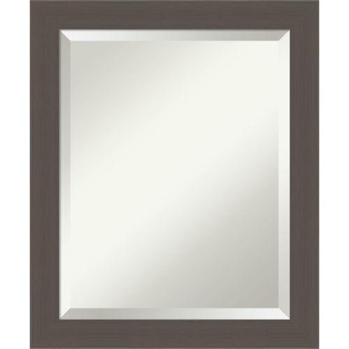 Pewter 20W X 24H-Inch Bathroom Vanity Wall Mirror