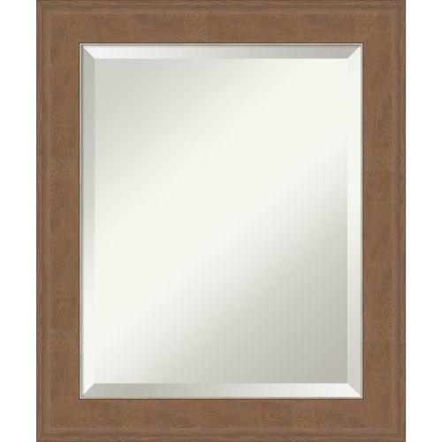 Alta Brown 21W X 25H-Inch Bathroom Vanity Wall Mirror
