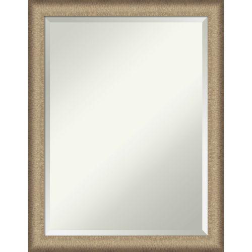 Elegant Bronze 21W X 27H-Inch Bathroom Vanity Wall Mirror