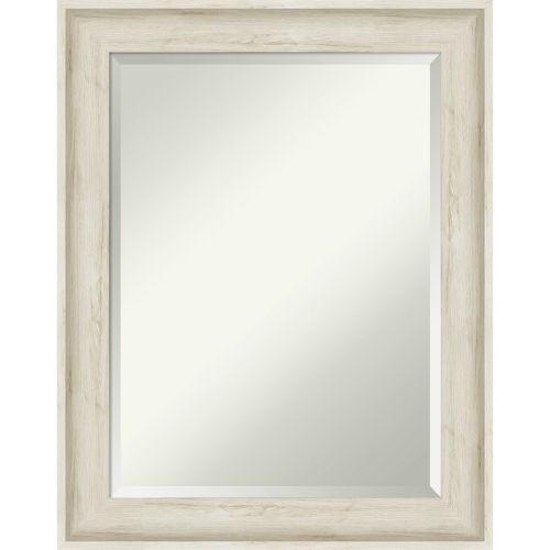 Regal White 23W X 29H-Inch Bathroom Vanity Wall Mirror