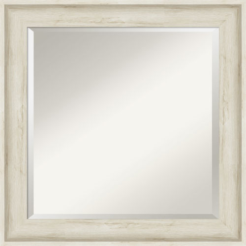Regal White 25W X 25H-Inch Bathroom Vanity Wall Mirror