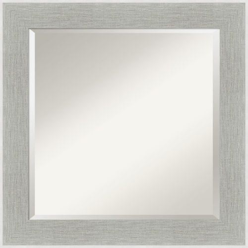 Gray 25W X 25H-Inch Bathroom Vanity Wall Mirror