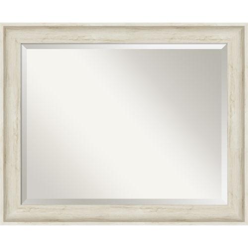 Regal White 33W X 27H-Inch Bathroom Vanity Wall Mirror