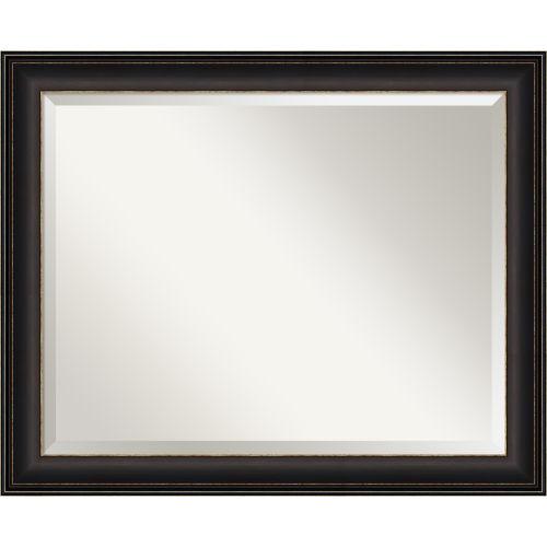 Trio Bronze 33W X 27H-Inch Bathroom Vanity Wall Mirror