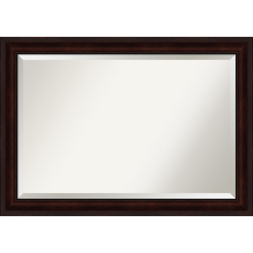 Brown 41W X 29H-Inch Bathroom Vanity Wall Mirror