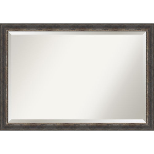 Bark Brown 40W X 28H-Inch Bathroom Vanity Wall Mirror