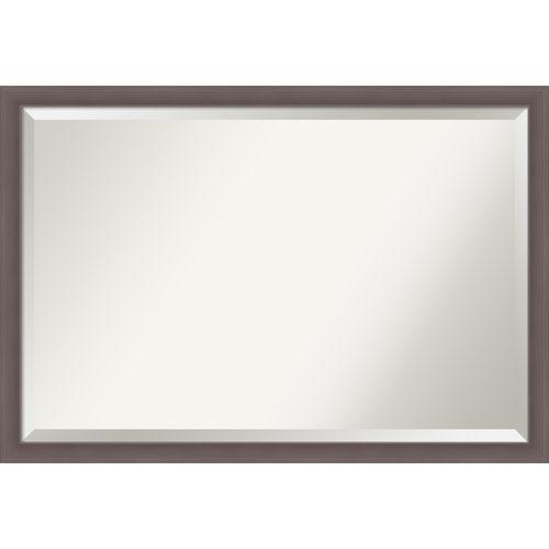 Urban Pewter 39W X 27H-Inch Bathroom Vanity Wall Mirror