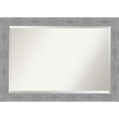 Bark Gray 41W X 29H-Inch Bathroom Vanity Wall Mirror