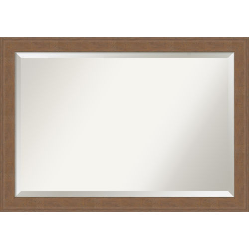 Alta Brown 41W X 29H-Inch Bathroom Vanity Wall Mirror