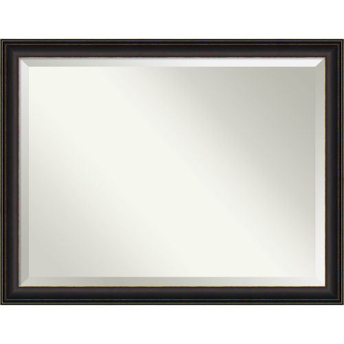 Trio Bronze 45W X 35H-Inch Bathroom Vanity Wall Mirror