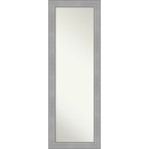 Vista Brushed Nickel 19W X 53H-Inch Full Length Mirror