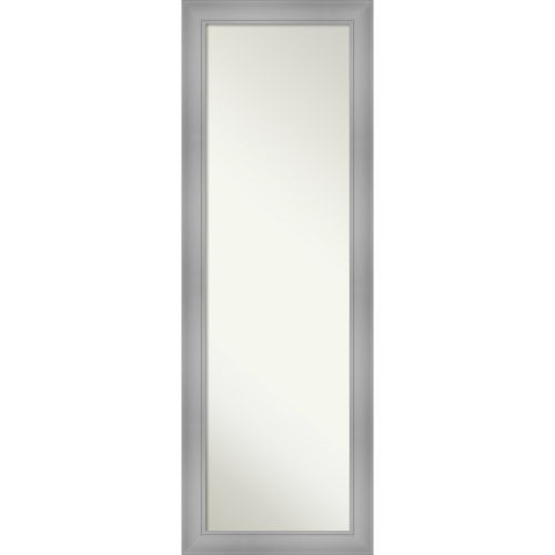 Flair Brushed Nickel 18W X 52H-Inch Full Length Mirror