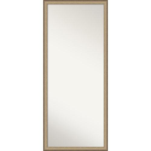 Elegant Bronze Full Length Floor Leaner Mirror