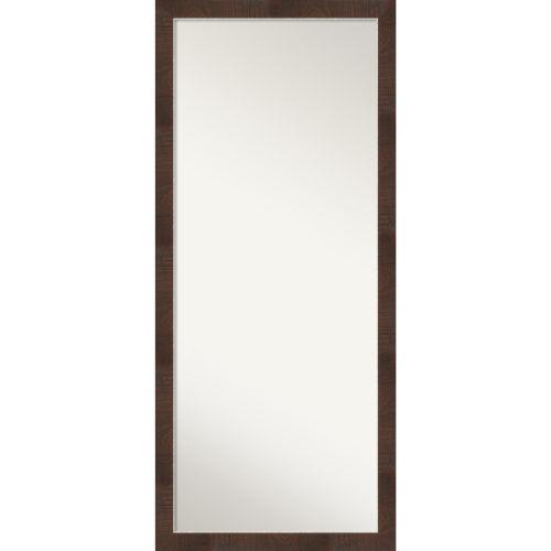 Wildwood Brown Full Length Floor Leaner Mirror
