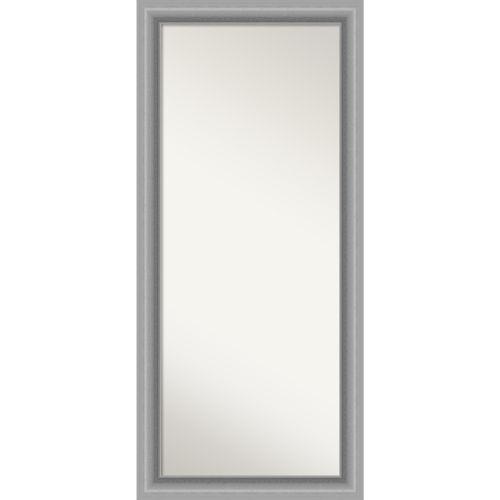 Peak Silver 30W X 66H-Inch Full Length Floor Leaner Mirror