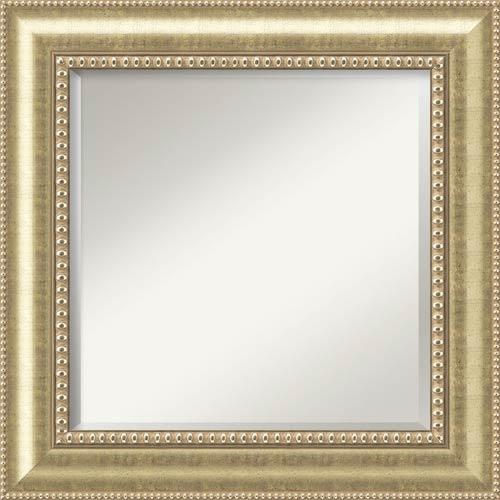 Amanti Art Astoria Champagne Square Mirror