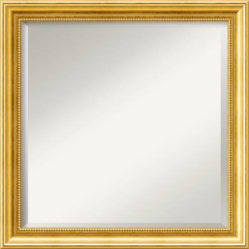 Amanti Art Townhouse Gold Square Mirror