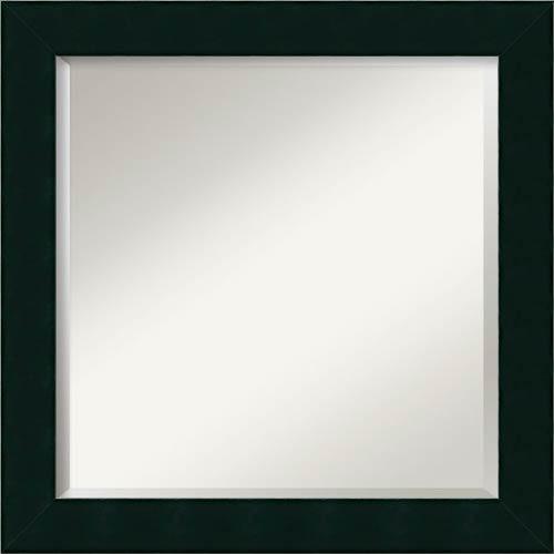 Amanti Art Tribeca Black Square Mirror