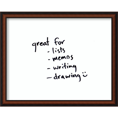 Bella Noce Medium Glass Dry Erase Board