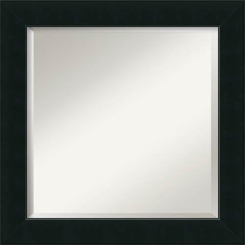 Amanti Art Corvino Black Square Mirror Dsw1346423 | Bellacor