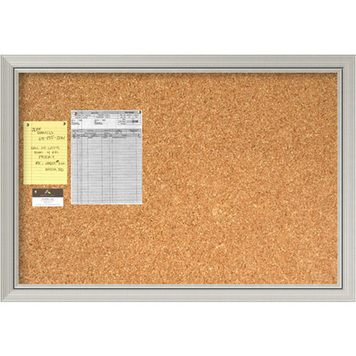 Romano Silver Large Cork Board
