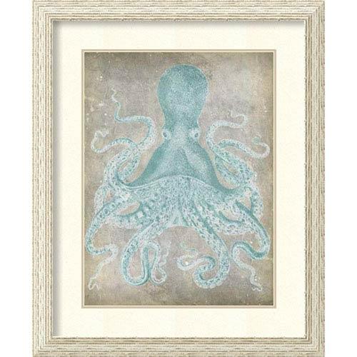 Spa Octopus I by Jennifer Goldberger: 27 x 33-Inch Framed Art Print