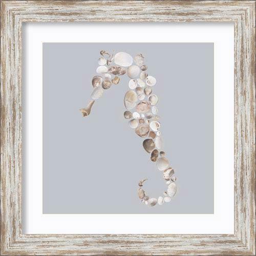 Seahorse by Justin Lloyd: 18 x 18-Inch Framed Art