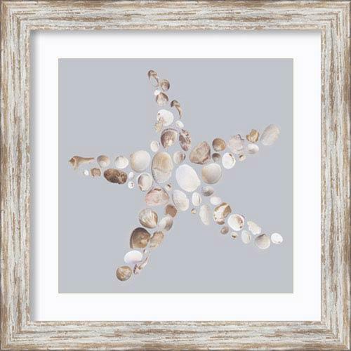 Starfish by Justin Lloyd: 18 x 18-Inch Framed Art