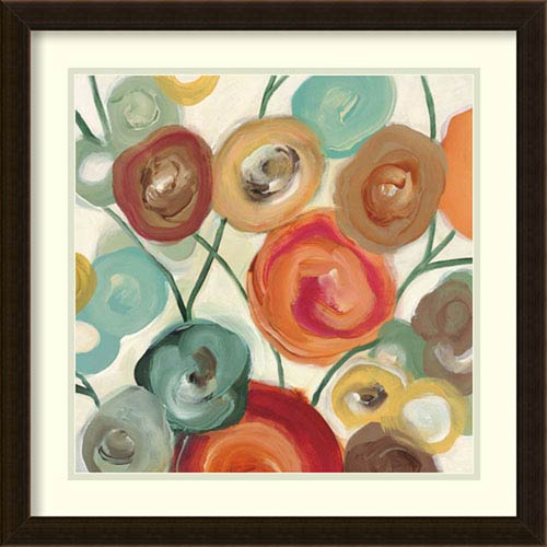 Blossom I by Cat Tesla: 22 x 22-Inch Framed Art